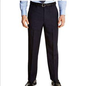 Farah Navy Blue Pleated Dress Pants 36 29 NWOT
